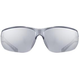 UVEX Sportstyle 204 Occhiali, bianco/nero